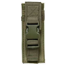 NcSTAR - CVPPH2991G - NcStar CVPPH2991G 6-Inch VISM Single Pistol Magazine MOLLE Pouch, Green