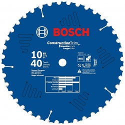 Bosch - DCB1040 - 10-Inch x 40-Tooth Daredevil General Purpose Circular Saw Blade