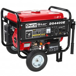DuroPower - DS4400E - DuroStar DS4400E 4400-Watt 7-Hp Air Cooled OHV Gas Generator w/ Electric Start and Wheel Kit