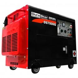 DuroPower - DS7000Q - DuroStar DS7000Q 6, 500 Watt Enclosed Diesel Portable Generator - Remote Start