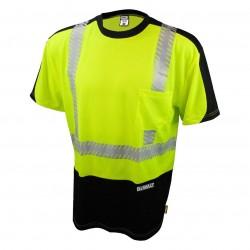 Dewalt - DST11B-2PGB-2X - DeWALT DST11B-2PGB-2X Class 2 Polyester Moisture Wicking Mesh T-Shirt, 2X-Large
