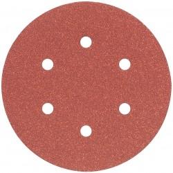 Dewalt - DW4331 - DeWALT DW4331 6'' 6 Hole 80 Grit Hook & Loop Random Orbit Sandpaper (5 Pk)