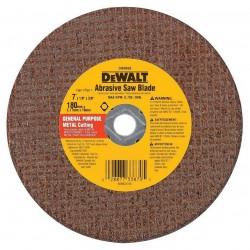 Dewalt - DW8056 - DeWALT DW8056 7'' x 1/8'' Red Ceramic Abrasive Saw Blade Metal (25 Blades)