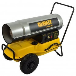 Dewalt - DXH135KT - DeWALT DXH135KT Portable 135000 BTU/HR Forced Air Kerosene Construction Heater w/ Wheels