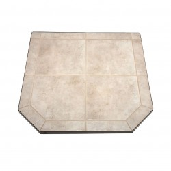 US Stove (USSC) - HS40DLCT1 - US Stove HS40DLCT1 40-inch Heavy Duty Steel Tile Type 1 Carmel Hearth Pad