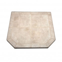 US Stove (USSC) - HS48DLCT2 - US Stove HS48DLCT2 48-inch Heavy Duty Steel Tile Type 2 Carmel Hearth Pad