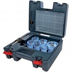 Bosch - HSM23PCM - Bosch HSM23PCM 5-TPI Quick-Change Threadless Sheet Metal Hole Saw Set - 23pc