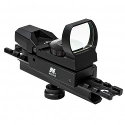 NcSTAR - KARHD4RGB-A - NcStar KARHD4RGB-A Carry Handle Mounted Red and Green Reflex Sight for AR-15/M4