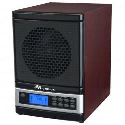 MicroLux - ML4000DCH - MicroLux ML4000DCH 7 Stage UV Ion Air Purifier with Remote (Cherry Wood Finish)