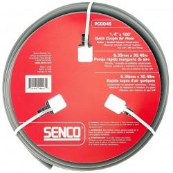 Senco - PC0046 - Senco PC0046 1/4-Inch x 100-Feet 250 PSI LHB Durable Gray Push on Hose