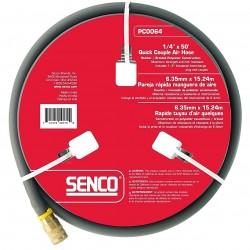 Senco - PC0064 - Senco PC0064 1/4-Inch x 50-Feet 250 PSI FPT Durable Gray Hose