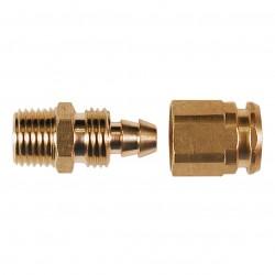 Senco - PC0983 - Senco PC0983 1/4-Inch MPT Proflex Reusable Brass Hose End for Air Hoses