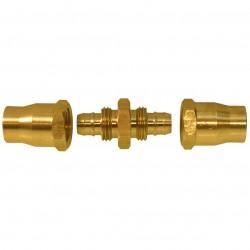 Senco - PC0987 - Senco PC0987 1/4-Inch MPT Proflex Reusable Brass Hose Splicer for Air Hoses