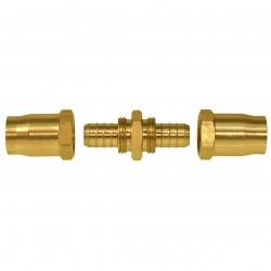 Senco - PC0988 - Senco PC0988 3/8-Inch MPT Proflex Reusable Brass Hose Splicer for Air Hoses