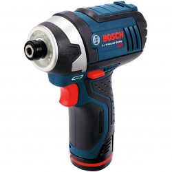 Bosch - PS41-2A-RT - Bosch PS41-2A-RT 12-Volt 1/4-Inch Lithium-Ion Impact Driver Kit (Reconditioned)