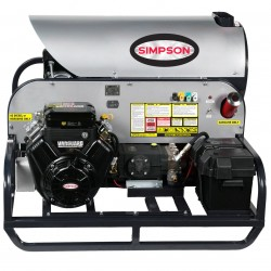 Simpson Cleaning - SB3555 - Simpson SB3555 3500 PSI 5.5 GPM Super Brute Gas Power Hot Water Pressure Washer