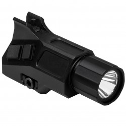 NcSTAR - VAFLFSP - NcStar VAFLFSP 3-1/2-Inch Flashlight and A2 Iron Front Sight Post Combo