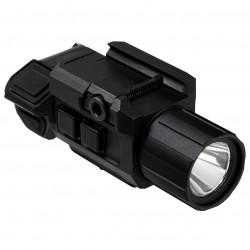 NcSTAR - VAPFLSGV3 - NcStar VAPFLSGV3 GEN III Electronic Green Laser Pistol Flashlight w/ Strobe