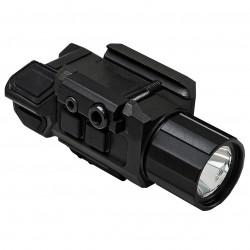 NcSTAR - VAPFLSRV3 - NcStar VAPFLSRV3 GEN III Electronic Red Laser Pistol Flashlight w/ Strobe