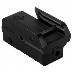 NcSTAR - VAPRLSMBLV2 - NcStar VAPRLSMBLV2 2-Inch Rail Mounting Compact Pistol Blue Laser w/ Strobe