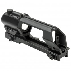 Ncstar - Vmdchvdgrlb-a - Ncstar Vmdchvdgrlb-a Gen Ii Carry Handle Green Micro Dot Combo For Ar-15