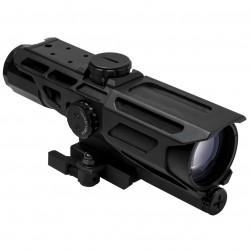 NcSTAR - VSTM3940GV3 - NcStar VSTM3940GV3 3-9x40mm Mil-Dot Reticle MARK III Tactical Scope, Black