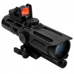 NcSTAR - VSTP3940GDV3 - NcStar VSTP3940GDV3 3-9x40mm P4 Sniper GEN III Ultimate Sighting System, Black