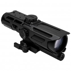 NcSTAR - VSTP3940GV3 - NcStar VSTP3940GV3 3-9x40mm P4 Sniper Reticle MARK III Tactical Scope, Black