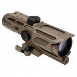 NcSTAR - VSTP3940GV3T - NcStar VSTP3940GV3T 3-9x40mm P4 Sniper Reticle MARK III Tactical Scope, Tan