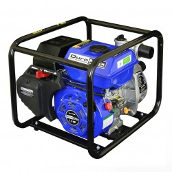 DuroPower - XP652WP - DuroMax XP652WP 7-Hp 158-Gpm 3600-Rpm 2-Inch Gasoline Engine Portable Water Pump