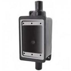 Calbond - PV0700FSC222 - Calbond PV0700FSC222 FS Device Box, 2-Gang, 3/4, Steel/PVC Coated