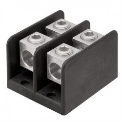 Ilsco - PDB-16-350-3 - Ilsco PDB-16-350-3 Power Distribution Block, 3-Pole, 600V, Material: Aluminum