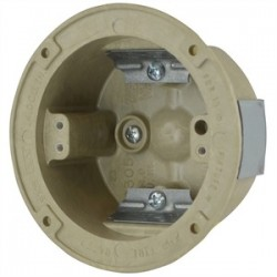 Allied Moulded - 9305-SC2 - Allied Moulded 9305-SC2 3-1/2 Round Ceiling/Fixture Box, Depth: 1-3/4, Old Work