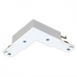 Philips - 6050NWH - Lightolier 6050NWH Basic L Connector, White