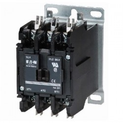 Eaton Electrical - C25DND330H - Eaton C25DND330H Contactor, Definite Purpose, Compact, 3P, 30 Amp, 277VAC Coil, Open