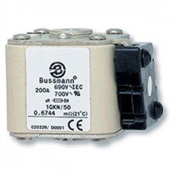 Cooper Bussmann - 170M6413 - Eaton/Bussmann Series 170M6413 900A Square Body Fuse, Flush End, Size 3, Visual Indicator, 690/700V