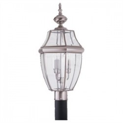 Sea Gull Lighting - 8239-965 - Sea Gull 8239-965 3l Post Lantern Antique Brush
