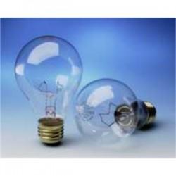 Osram - 60A19TS/8M/SS-120-125V - SYLVANIA 60A19TS/8M/SS-120-125V Incandescent Bulb, Traffic Signal, A19, 60W, 125V, Clear