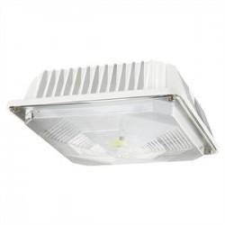 Cree - C-CP-A-SQ-49L-40K-WH - Cree Lighting C-CP-A-SQ-49L-40K-WH LED Canopy, 120-277V, 4900L, 4000K, White