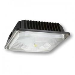 Cree - C-CP-A-SQ-49L-50K-DB - Cree Lighting C-CP-A-SQ-49L-50K-DB LED Canopy, 120-277V, 4900L, 5000K, Dark Bronze