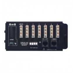 On-Q / LeGrand - 1267062-01-V1 - ON-Q 1267062-01-V1 1 x 6 Basic Telecom Module, 6 Telephone Outlets with 4 Lines Each