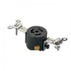 Cree - C-ACC-A-RECEP-HV-TL - Cree Lighting C-ACC-A-RECEP-HV-TL Receptacle 15A, 277V, 3-Wire, Twist Lock