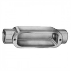 Red Dot - BC-5 - Red Dot BC-5 1-1/2 Type C Conduit Body, Aluminum, for Rigid/EMT