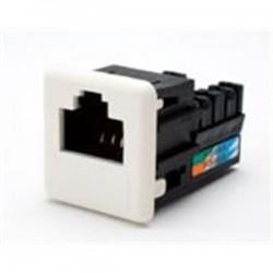 Optical Cable - UMJA5E08 - Optical Cable UMJA5E08 Snap-In Connector, Cat 5e+, UMJ, 568A/B, Orange