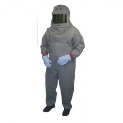 Cementex - HRC4-K-XL - Cementex HRC4-K-XL Arc Flash Kit: Jacket, Overpants, Hood with Lens, Safety Glasses - Size: XL