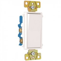 Pass & Seymour - TM874W - Pass & Seymour TM874W 4-Way Decora Switch, 15A, 120/277VAC, White