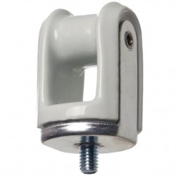 Arlington Industries - 617 - Arlington 617 Wireholder, Reinforced, Screw Type, Porcelain