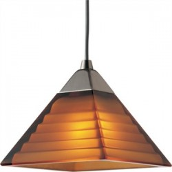 Progress Lighting - P6139-09A - Progress Lighting P6139-09A Mini-Pendant, 1 Light, 50W, Brushed Nickel