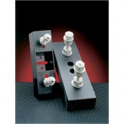 Mersen - P266A - Ferraz P266A Fuse Block, Semi-Conductor, Bolt On, 125 - 600A, 1000VAC, Studs