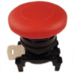 Eaton Electrical - E22LB2 - Eaton E22LB2 Mushroom Head Pushbutton, Red, E22